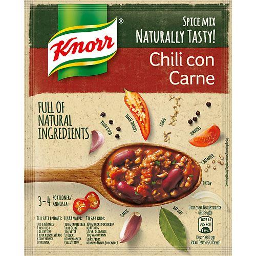 chili con carne krydda recept