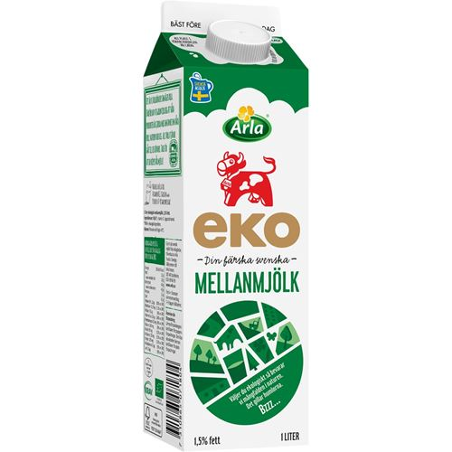 garant laktosfri mjölk