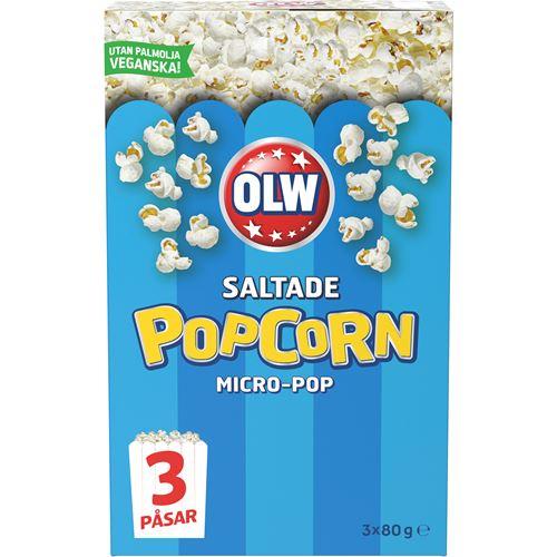 hur mycket kalorier är det i popcorn