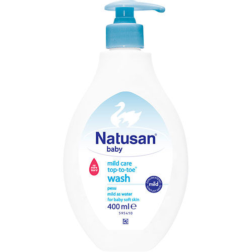 Mild Care Wash 400ml Natusan Baby