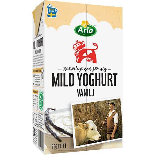 arla yoghurt vanilj