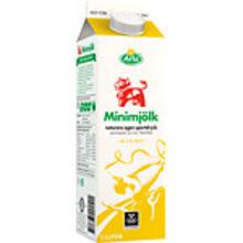 Minimjölk Gul 0,1% 1L Arla