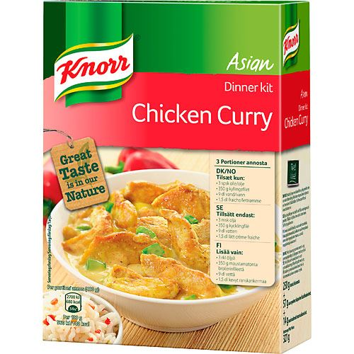 Mix Chicken Curry 324g Knorr