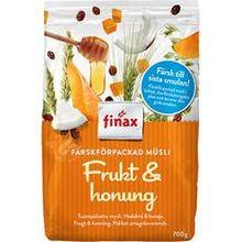 Müsli Frukt & Honung 700g Finax