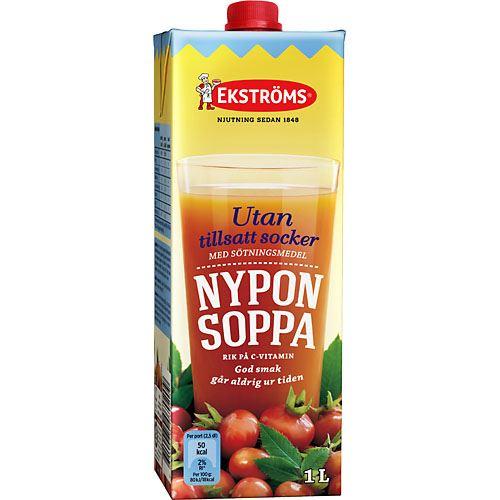 Buy Nyponsoppa utan Tillsatt Socker 1L Ekströms hos MatHem