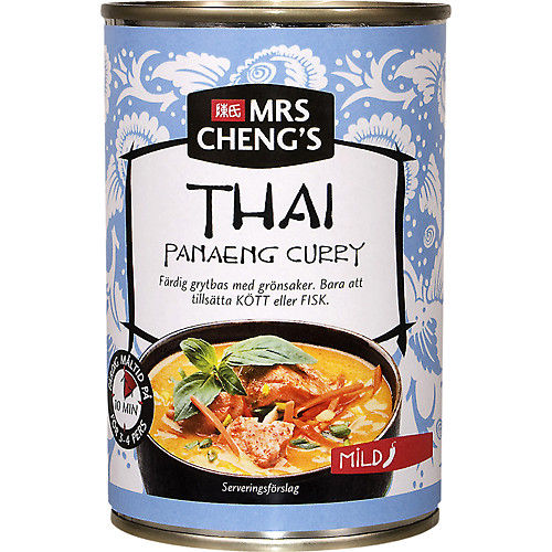 Panaeng curry mild 400ml Mrs Chengs