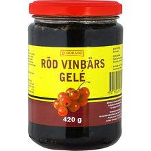 Röd Vinbärsgele 420g Eldorado