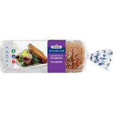 Sandwich Rågbröd 660g Schulstad