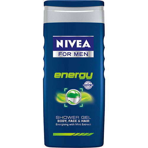 Shower energy 250ml Nivea for Men