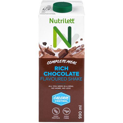 nutrilett choklad shake kalorier