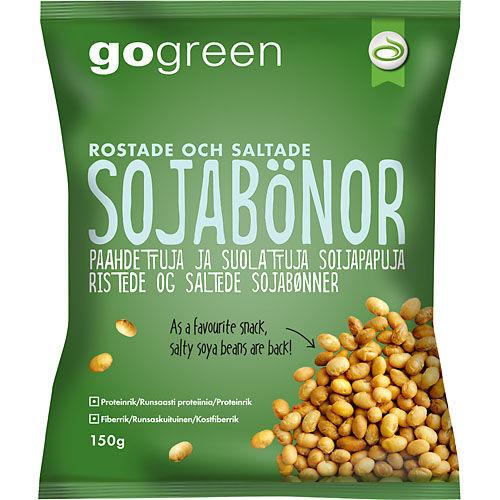 gröna sojabönor näringsinnehåll
