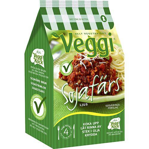 vegetarisk färs innehåll