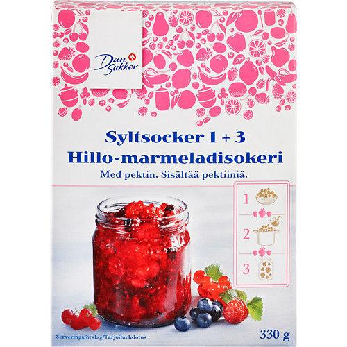 Syltsocker 1+3 330g Dansukker