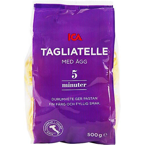 Tagliatelle med Ägg 500g Ica Italia