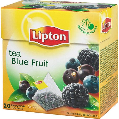 Te Blue Fruit Pyramid 20-p Lipton