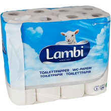 Lambi toalettpapper pris