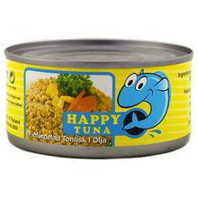 Tonfisk Finfördelad Olja 185g Happy Tuna