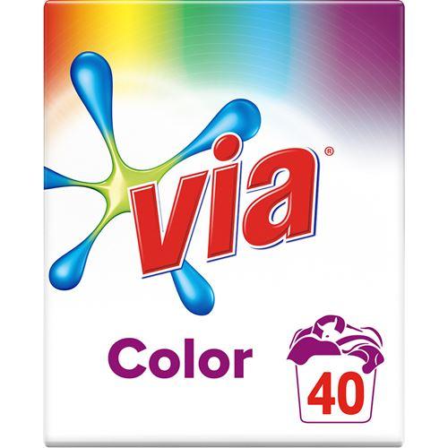 Via color tvättmedel