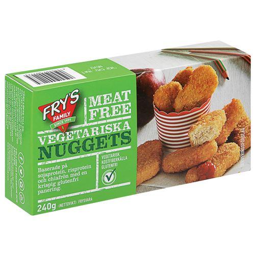 Nuggets Kcal: Vegetariska Nuggets 240g FRY's Hos MatHem