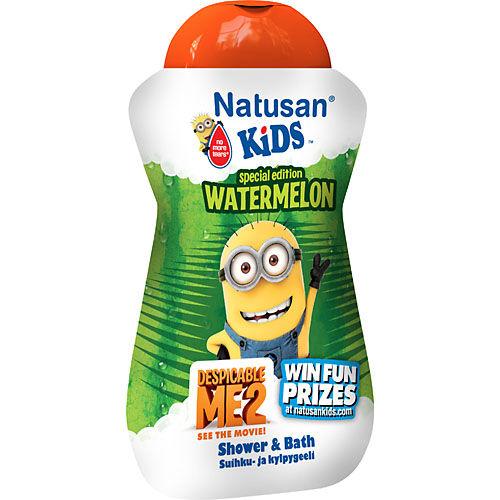 Watermelon Shower 300ml Natusan Kids