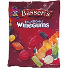 Wine gums påse 160g Bassetts