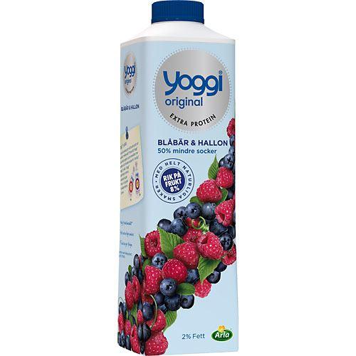 yoghurt med lite socker