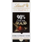 Chokladkaka 90% 100g Lindt Excellence