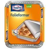 Folieform med Lock 5dl 12-p Toppits
