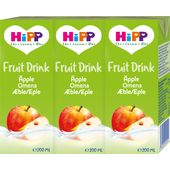 Fruit Drink Äpple EKO 12M 3x200ml Hipp