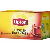 Svart te English Breakfast 20-p Lipton