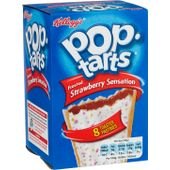Pop Tarts Strawberry Sens 8-p Kellog's