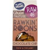 Kakor Chocolate Chip Rawkin Roons EKO 90g Planet Organic