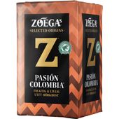 Kaffe Pásion Colombia 450g Zoegas