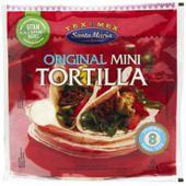 Soft Taco Tortilla Mini 200g Santa Maria