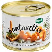 Kantareller 190g Favorit