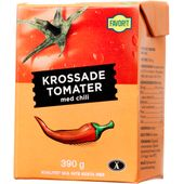 Krossade Tomater Chili 390g Favorit