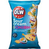 Chips Sourcream & Onion 275g Olw