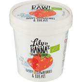 Happy Strawberries & Dream EKO 110ml Lily & Hanna's Rawfood Ice Dream