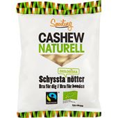 Cashewnötter Naturell EKO Fairtrade 125g Smiling