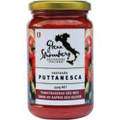 Pastasås Puttanesca 350g Glenn Strömberg Collection