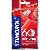 60min Strawberry 28g Stimorol