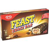Feast Snack Bar 6-p GB Glace