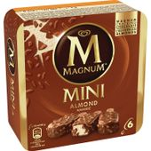Magnum Mini Almond 6-p GB Glace