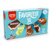 Favoriter 10-p GB Glace