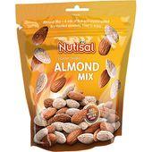 Almonds Mix Salted 175g Nutisal