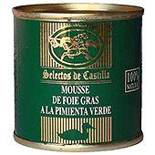 Anklevermousse Med Grönpeppar 95g Selectos de Castilla