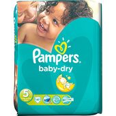 Baby Dry 11-25kg (5) 41-p Pampers