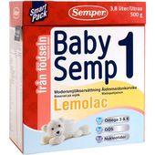 BabySemp 1 Lemolac 0mån 500g Semper