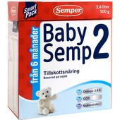 Babysemp 2 6mån 500g Semper