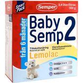 BabySemp 2 Lemolac 6mån 500g Semper